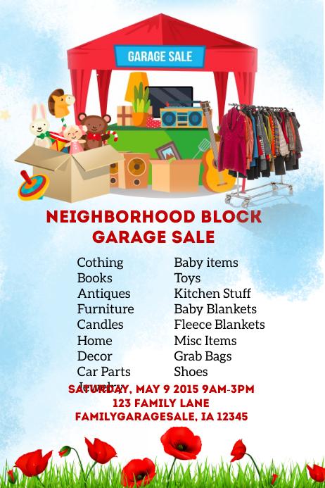 Neighborhood Block Sale