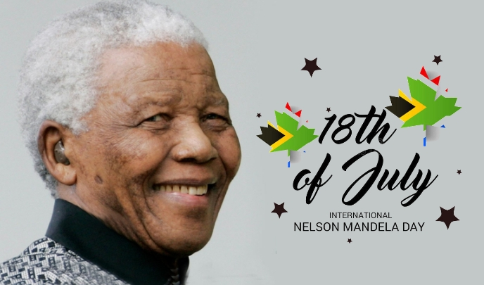 Nelson Mandela Day Tag template