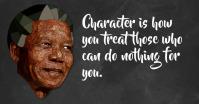 Nelson Mandella quote Imagen Compartida en Facebook template