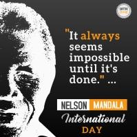 Nelson Mendala Instagram Post template