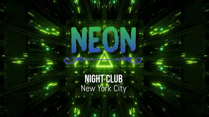 neon Digitale Vertoning (16:9) template