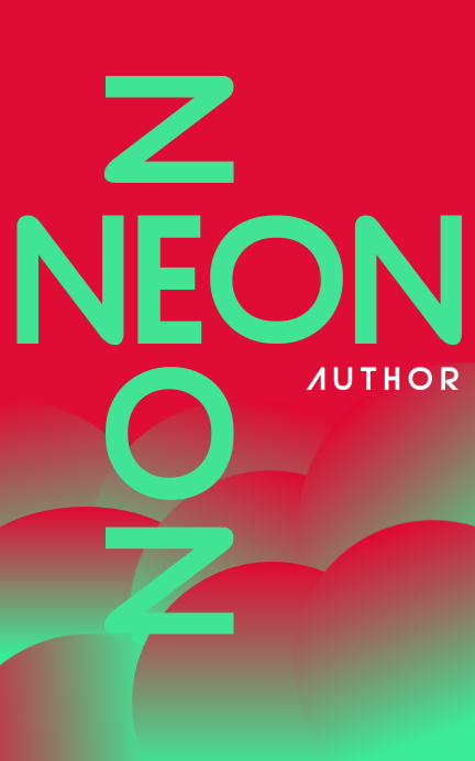 NEON Kindle/Book Covers template