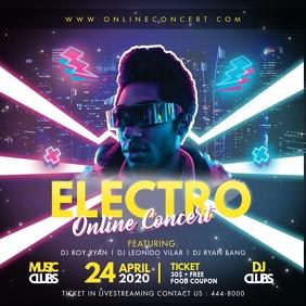 Neon Lights Trance Modern Electronic Music FB