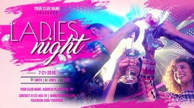 Neon Nightclub Bar Digital Display Video Template