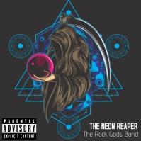 Neon Reaper Album Cover template