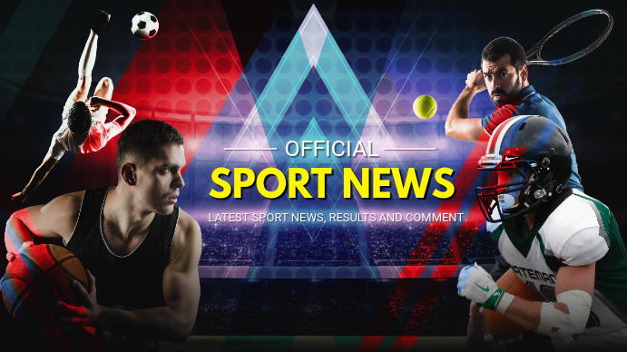 Neon Sports News YouTube Banner