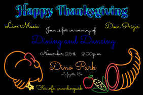 Neon Thanksgiving