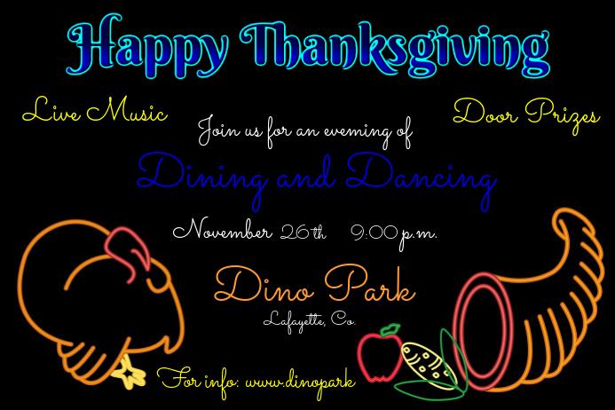 Neon Thanksgiving