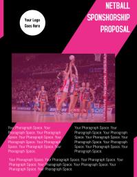 Netball Sponsorship Proposal Template