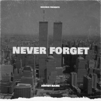 Never Forget Cover Art Design Template Albumcover