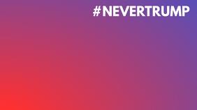 #NEVERTRUMP - Desktop Wallpaper