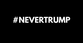 #NEVERTRUMP - Facebook Shared image