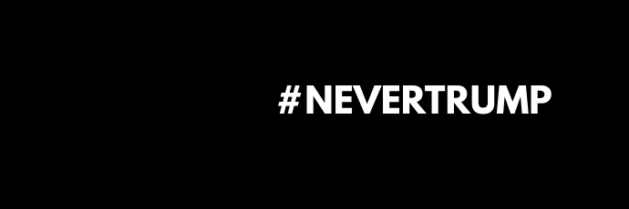 #NEVERTRUMP - Twitter Header