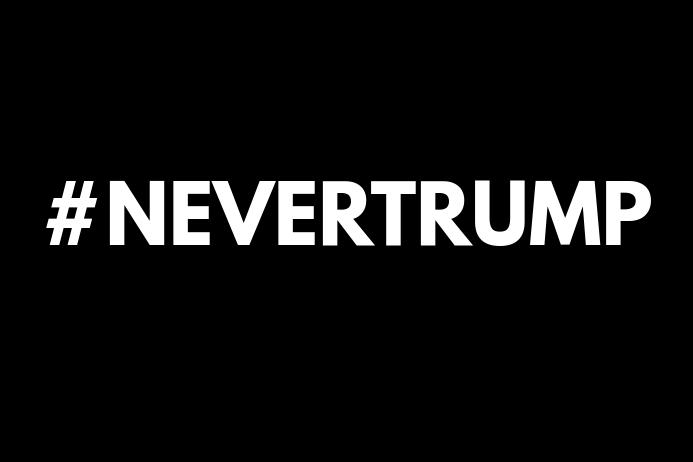 #NEVERTRUMP