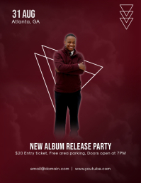 New Album Release Party