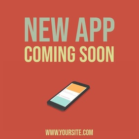 New app coming soon video template