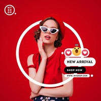 New Arrival Ad Сообщение Instagram template