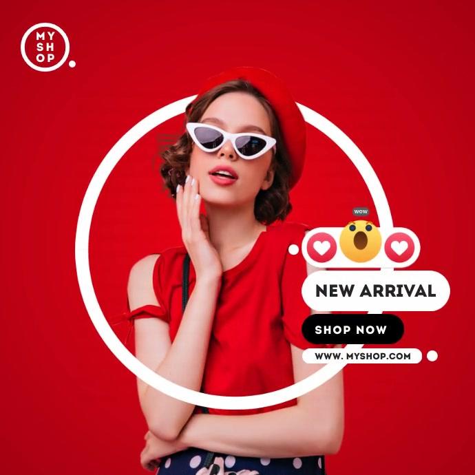 New Arrival Ad Publicação no Instagram template