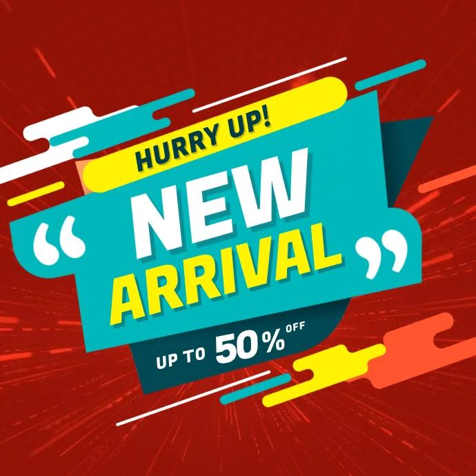 New Arrival Sale Instagram Video Post