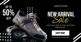 New Arrival Sports Footwear Sale Facebook Shared Image template