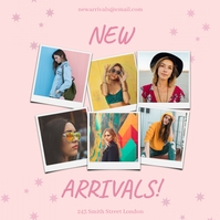 New Arrivals Template Instagram Post