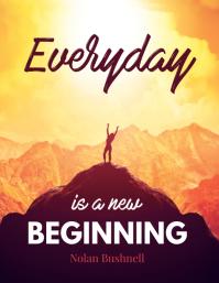 New Beginning Office Poster