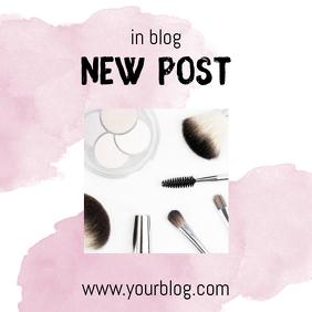 New Blog Post Advertising template for instagram