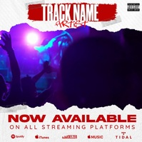 New Clip Video Available Album Cover Template Pos Instagram