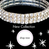 New Collection Boutique Jewelery Shop Social Instagram Post template