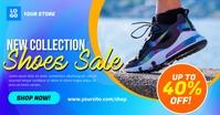 New Collection Shoes Sale Social Media Ad Tem Изображение, которым поделились на Facebook template