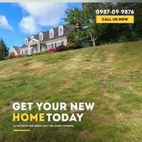 New House Agent Video Instagram-Beitrag template
