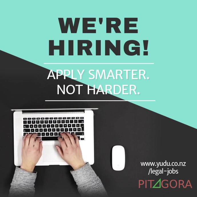 New Job Vacancies Instagram Video Template Square (1:1)