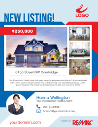 New Listing Real Estate Flyer
