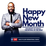 NEW MONTH Instagram Plasing template