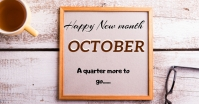 new month Facebook Shared Image template