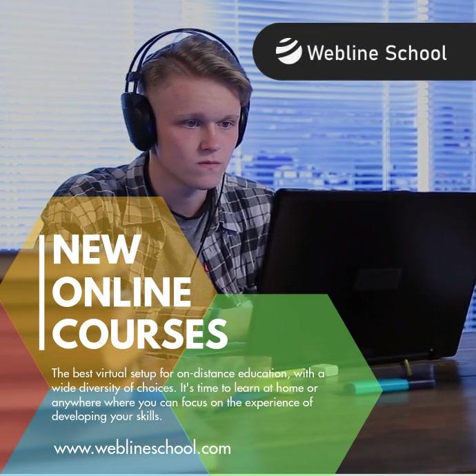 New Online Courses Video Facebook Instagram