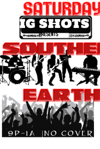 New Orleans Style Band Flyer