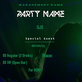New Party Flyer