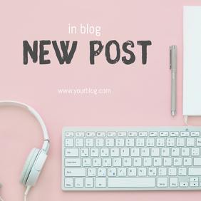 new post template for blog instagram