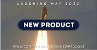 New Product Launch Video Ad Gambar Bersama Facebook template