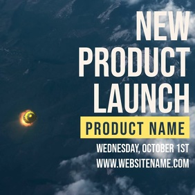 New Product Launch Video Template