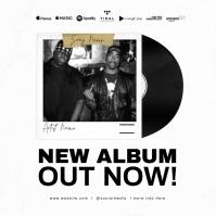 NEW SINGLE AVAILABLE NOW FLYER TEMPLATE Portada de Álbum