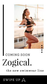 New Swimline Coming Soon Instagram Story template