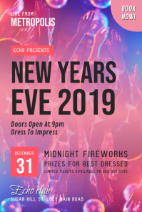 New Year's Eve 2019 Poster
