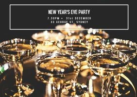 New Year's Eve Party Invite