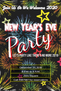 New Year's Eve Party Template