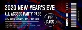 New Year's Eve Party Ticket 1