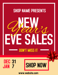 New year's eve sales