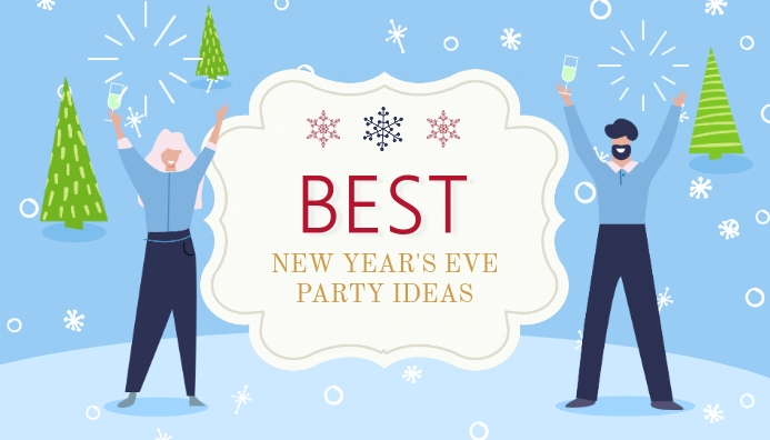 New Year's Party Guide Blog Header