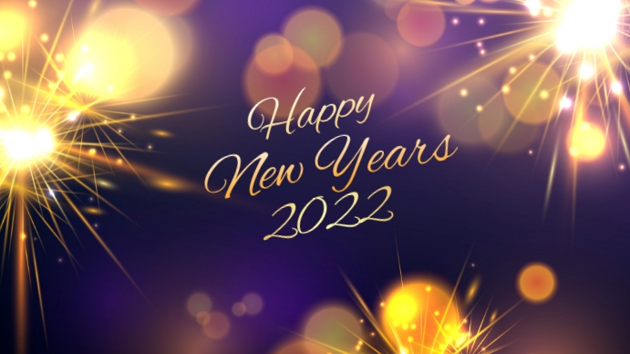 New year Pantalla Digital (16:9) template